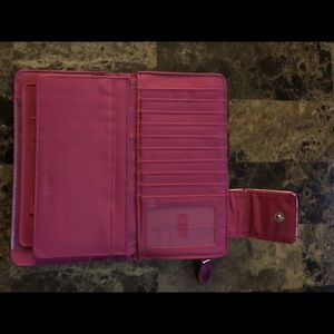 Bags - Pink wallet with several pockets !💖